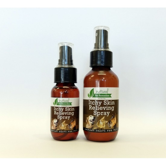 ITCHY SKIN Reliever Spray for Pets